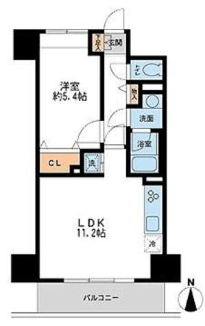 フェニックスレジデンス千葉中央 / 1LDK(39.3㎡) 部屋画像1