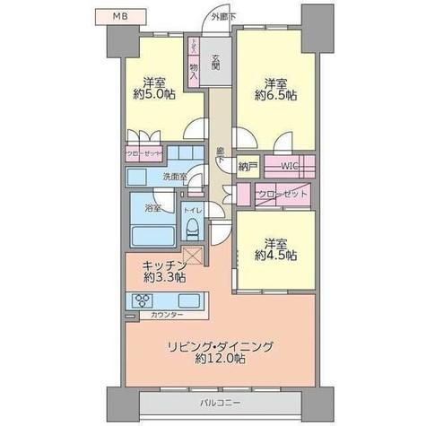 オーベルグランディオ品川勝島 / 20 Floor 部屋画像1