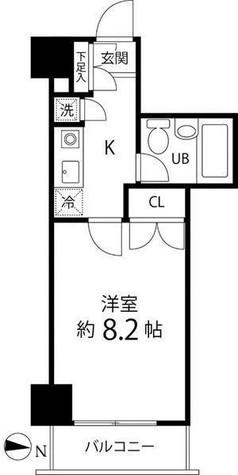 ハイリーフ芝大門(旧レジディア芝大門) / 3階 部屋画像1