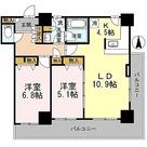 カスタリアタワー長堀橋 / 2LDK(63.20㎡) 部屋画像1