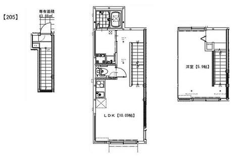 ソルナクレイシア祖師谷 / 1LDK(43.88㎡) 部屋画像1