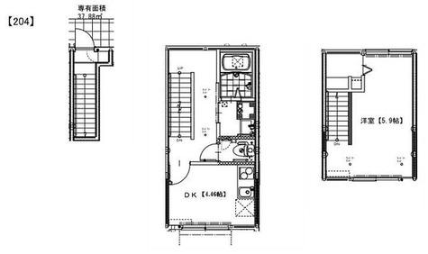ソルナクレイシア祖師谷 / 1LDK(37.88㎡) 部屋画像1