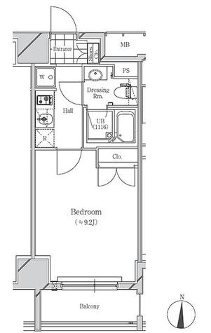 フトゥールス南麻布  / Cタイプ 部屋画像1