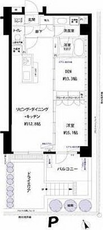 フォレシティ富ヶ谷 / 1SLDK(55.79㎡) 部屋画像1
