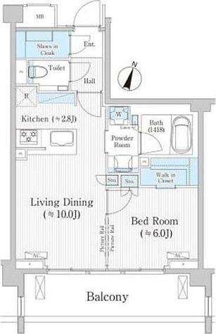 バウスステージ広尾 / 1階 部屋画像1