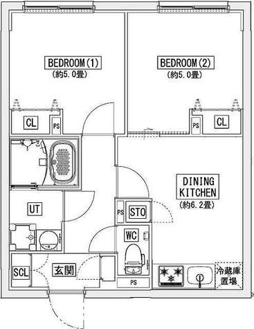 リーガランド神楽坂(LEGALAND KAGURAZAKA) / 4階 部屋画像1