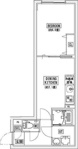 リーガランド神楽坂(LEGALAND KAGURAZAKA) / Aタイプ(32.96㎡) 部屋画像1