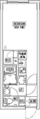 リーガランド神楽坂(LEGALAND KAGURAZAKA) / Dタイプ(23.63㎡) 部屋画像1