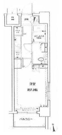 メインステージ八丁堀 / 7階 部屋画像1