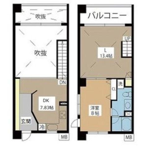 マイアトリア名駅 / 1LDK(69.20㎡) 部屋画像1