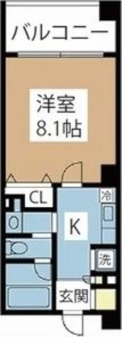 マイアトリア名駅 / 1K(26.60㎡) 部屋画像1