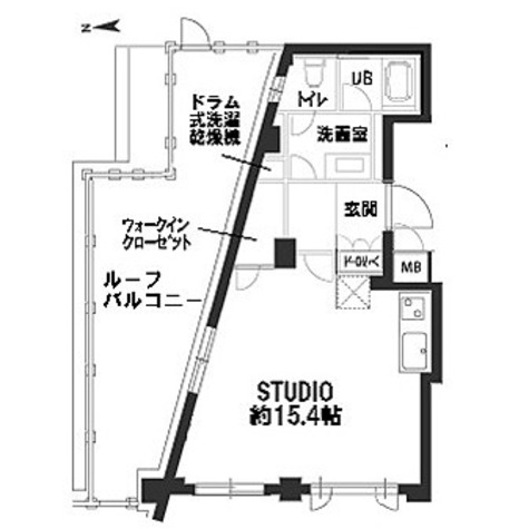 カスタリア自由が丘 / 1R(39.86㎡) 部屋画像1