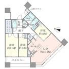Brillia Towers目黒ノースレジ(ブリリアタワー目黒ノースレジ) / 3404 部屋画像1