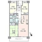 コーポレート鷺沼 / 3LDK(65.79㎡) 部屋画像1
