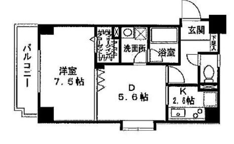 サンアーバン目黒 / 703 部屋画像1