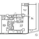 MFPR目黒タワー / 2L-Mタイプ 部屋画像1