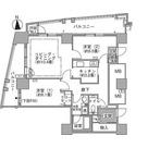ラ・トゥール汐留 / 2LDK(72.77㎡) 部屋画像1