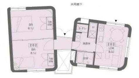 trifolia (トリフォリア) / 2 Floor 部屋画像1