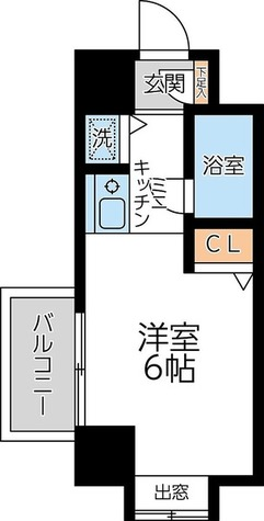 ユーコート新丸子 / 2階 部屋画像1