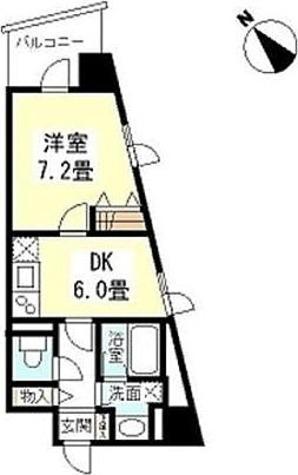 TKフラッツ渋谷 / 1DK(36.45㎡) 部屋画像1