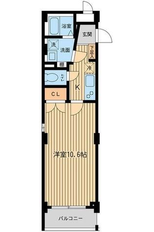 アーデン目黒不動前(旧パークハビオ目黒不動前) / 312 部屋画像1