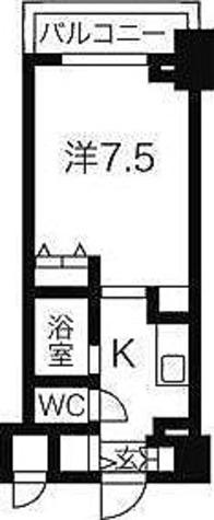 HF東中野レジデンス / 1K(22.5㎡) 部屋画像1