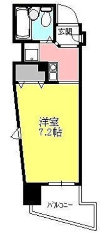 アルモニー御茶ノ水 / ワンルーム(22.48㎡) 部屋画像1