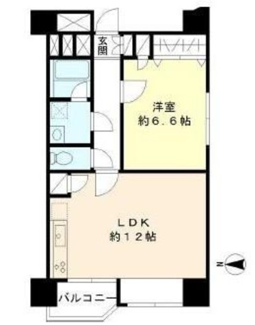 TS大森ハイム / 702 部屋画像1