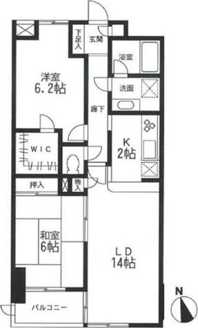 KDXレジデンス宮前平 / 204 部屋画像1