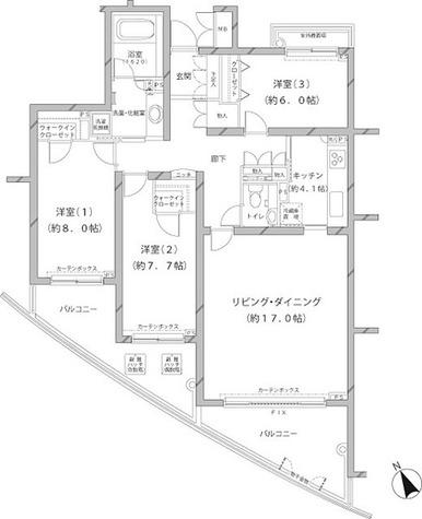 アレンツ代官山 / 3LDK(101.08㎡) 部屋画像1