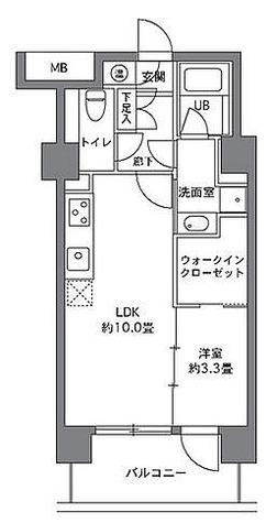 ストーリア白金台 / 1LDK(38.86㎡) 部屋画像1