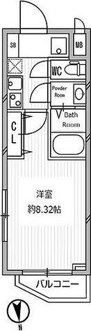白金高輪レジデンス / G3タイプ 部屋画像1