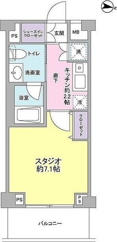 サンピエス桜新町 / 1階 部屋画像1