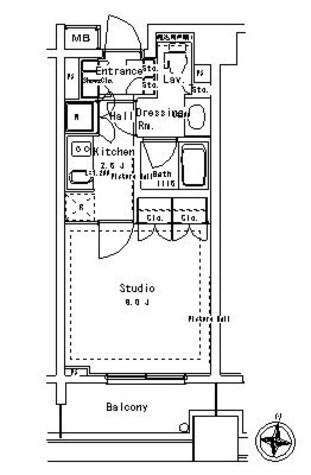 パークアクシス御茶ノ水ステージ / 5階 部屋画像1