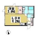 ソレイユ鷹番 / 103 部屋画像1