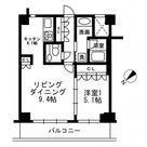 URBAN PARK代官山Ⅱ / 1LDK(45.13㎡) 部屋画像1