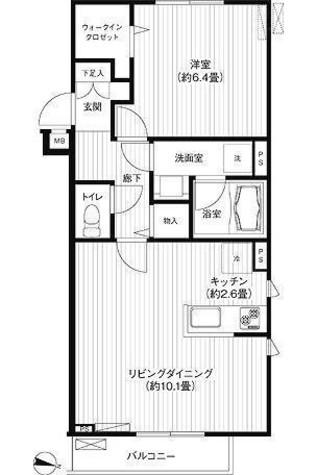 フォルムf / 2階 部屋画像1