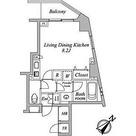 セントラルクリブ六本木Ⅰ / Ⅱ-Dタイプ 部屋画像1