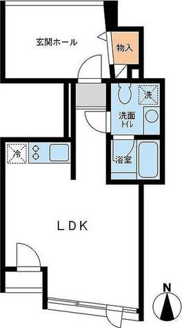 CIRCLE南麻布(サークル南麻布) / ワンルーム(38.31㎡) 部屋画像1