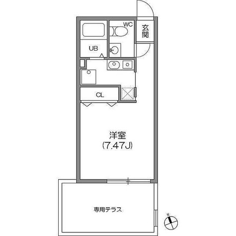 ZESTY神楽坂Ⅰ / ワンルーム(23.90㎡) 部屋画像1
