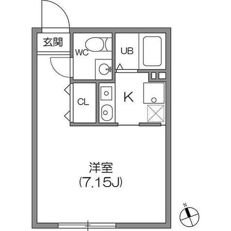 ZESTY神楽坂Ⅰ / 1階 部屋画像1
