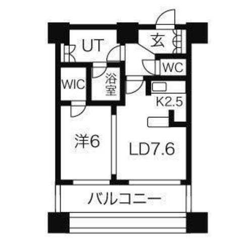 カテリーナ三田タワースイートイーストアーク / E2506 部屋画像1