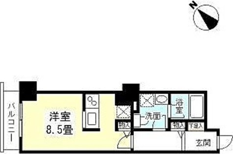 TKフラッツ渋谷 / 1R(26.60㎡) 部屋画像1
