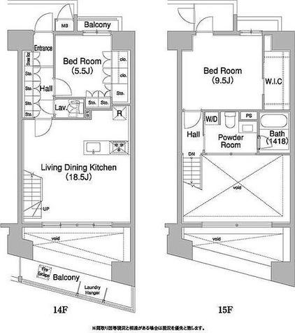コンフォリア芝浦バウハウス / 2LDK(88.53㎡) 部屋画像1