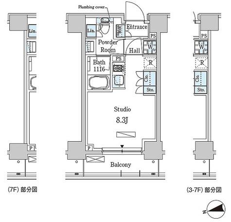 パークアクシス大森レジデンス / Cタイプ(23.27㎡) 部屋画像1