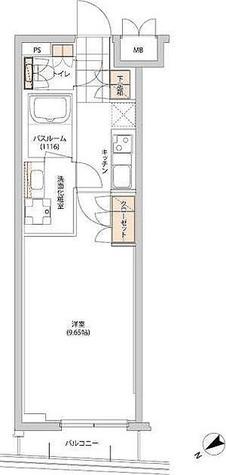 ヒューリック目白 / 1K(28.75㎡) 部屋画像1