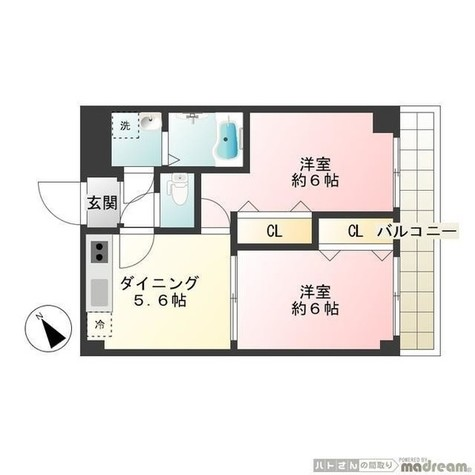 ブランシェ南大井 / 4 Floor 部屋画像1