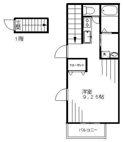 メルヴェージュ代々木 / 2階 部屋画像1