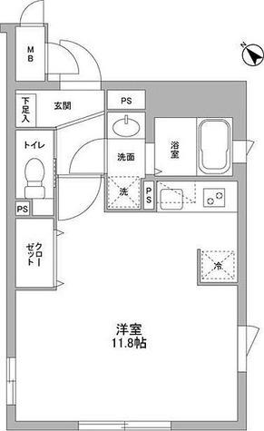 NOZOMIO武蔵小山 / 1階 部屋画像1