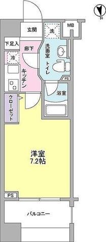 メインステージ白金高輪駅前 / 1階 部屋画像1
